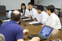 2015.7.30~8.1 未来の科学者育成プロジェクト「高校生科学体験教室」にて当ラボに4人の生徒が来ました。