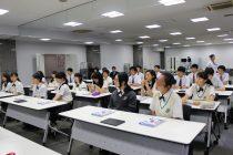 2017.7.26(水) 江戸川学園取手高校 ラボ見学